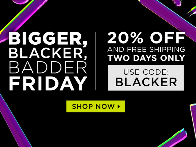 Get All Your Favorite Urban Decay Products for 20% Off, Plus Free Shipping