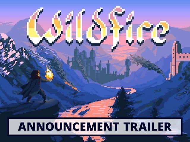 Wildfire, um jogo sobre o qual escrevi em 2015, finalmente está quase pronto e parece muito, muito