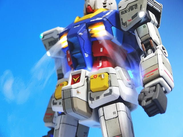<i>Gundam </i>Figure Is Smokin' Hot