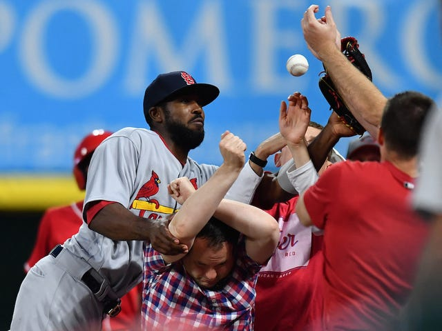 Dexter Fowler Seems Miserable Playing For The Cardinals