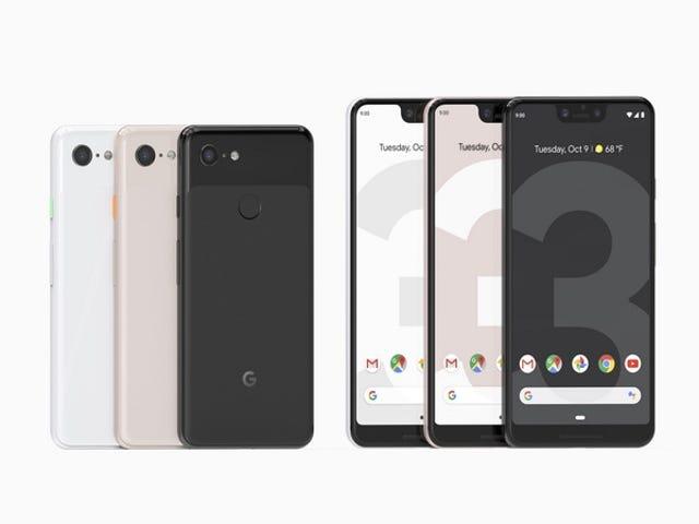 Cuánto cuestan los nuevos Pixel 3 y Pixel 3XL