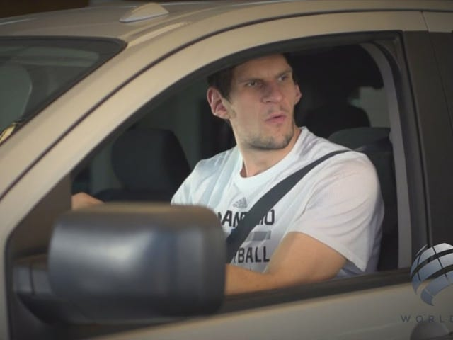 Hell Yeah, Boban Marjanovic Got Himself In A Local TV Commercial