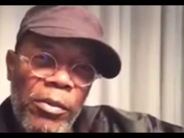 "Samuel L. Jackson Challenges Celebs to Sing ""I Can't Breathe"""