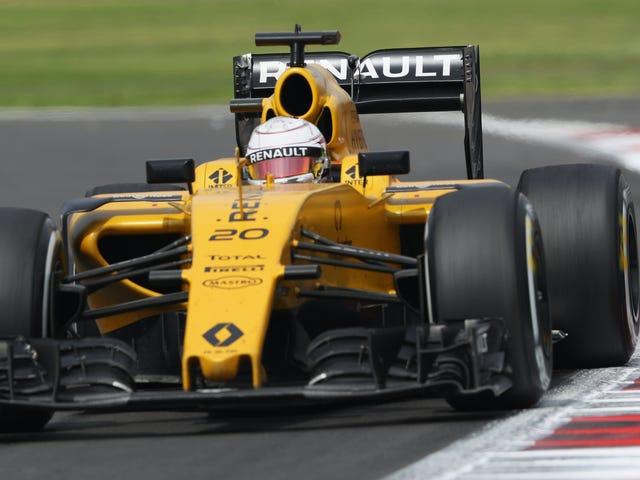 Bahkan Paus bisa saja menjadi pembalap Formula Satu Renault Selanjutnya