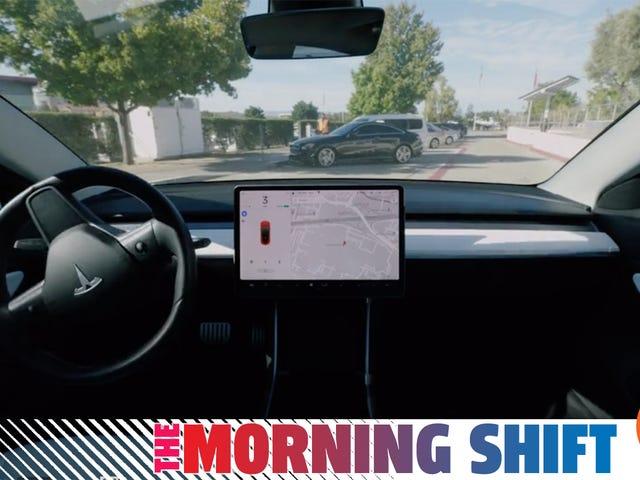 Forbrugerrapporter opfordrer Teslas Smart Summon