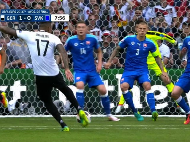 Jérôme Boateng's Volley Opens Scoring For Germany