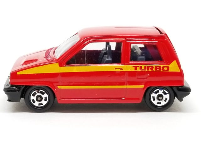 [REVIEW] Tomica Honda City Turbo