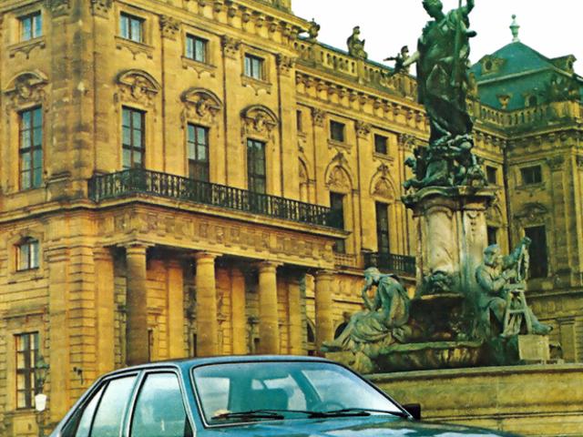 TIL, что Opel, Borgward и Cadillac сделали фотографии для прессы в моем городе