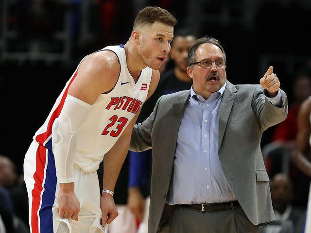 Blake Griffin Looked Extremely Worth It In His Pistons Debut