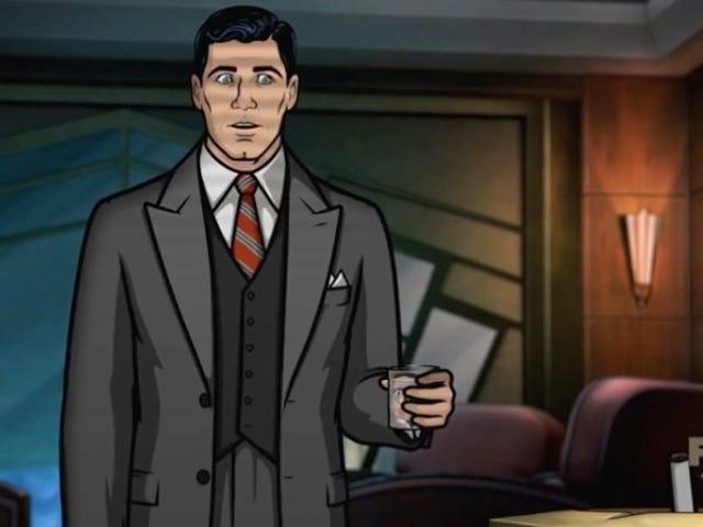 <i>Archer</i> सीज़न आठ के लिए पहले प्रोमो में पूरी तरह से नोयर हो जाता है