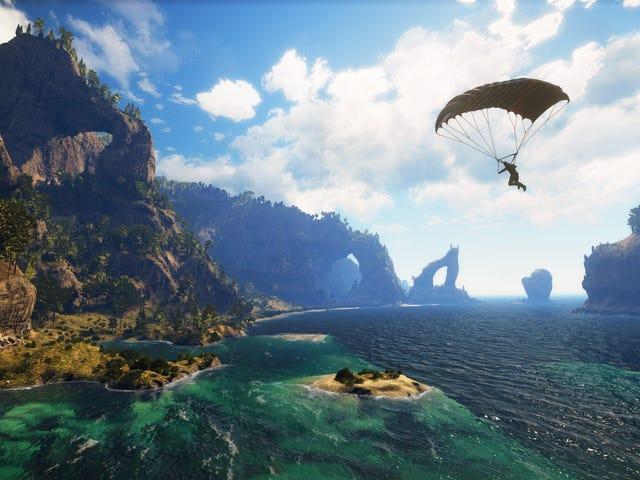 Just Cause 3 : n suorituskyky ei ole suuri, näyttää pahimmalta Xboxista