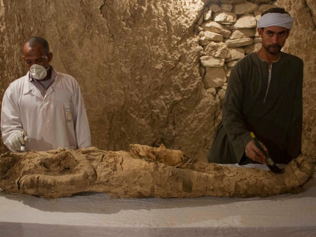 Decades After Discovery, 3,500-Year-Old Mummy Found in Egyptian Tomb
