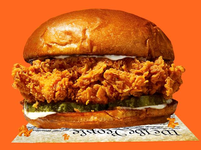 Das letzte Popeyes Chicken Sandwich in Amerika