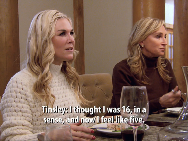 On the Real Housewives of New York, Vermont Is For Yelling at Tinsley Mortimer