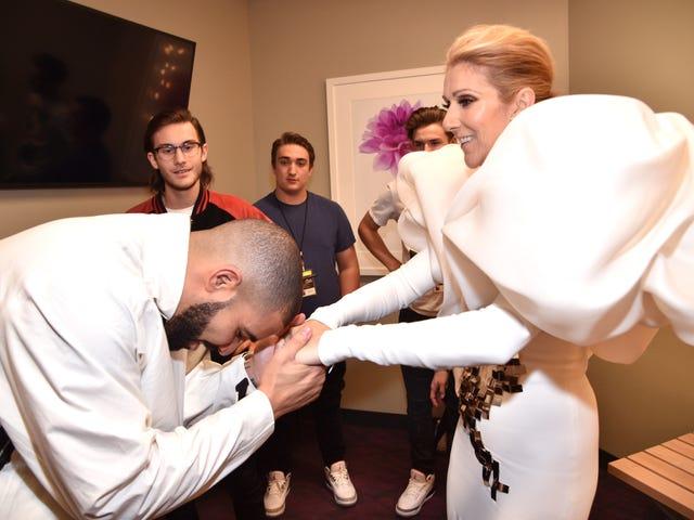 Nag-isyu si Celine Dion ng taos-pusong pakiusap, na humihiling kay Drake na huwag makakuha ng tattoo ng kanyang mukha