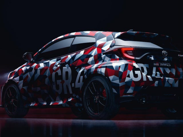 Toyota Teases AWD Rally-Inspired Yaris GR-4 Hot Hatch And It's So Good