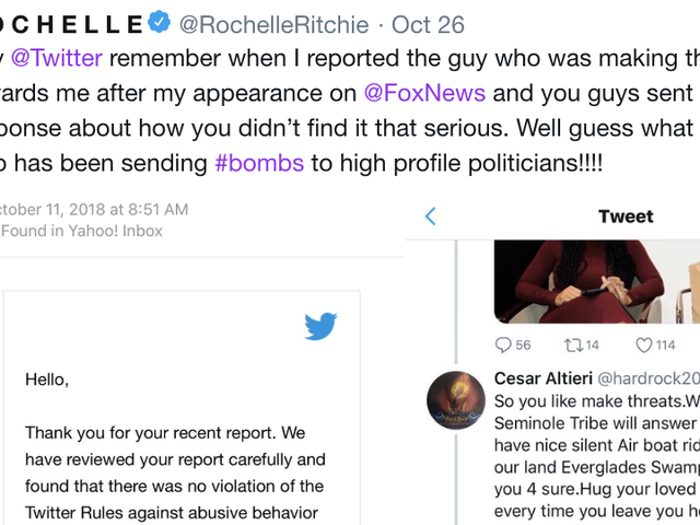 A Black Woman Reported the MAGABomber to Twitter.Twitter Did Nothing ... Again