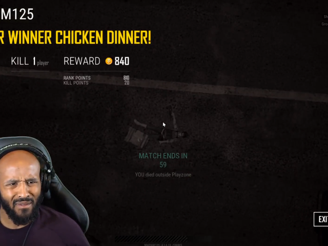 UFC Champ Crushed By PUBG's Circle, Somehow Wins Anyway