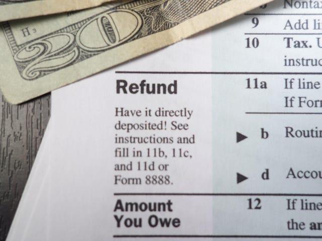 Tại sao một khoản hoàn thuế lớn không tuyệt vời như bạn nghĩ