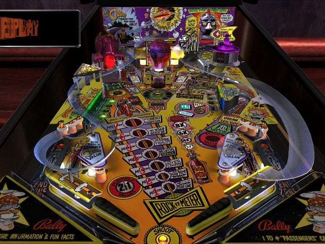 Down The Drain - Pinball Arcade's Tables Through the Ages: The 90's (Bally)