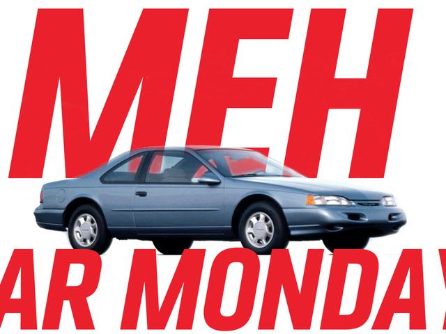 Meh Car Monday: The Tenth-Generation Ford Thunderbird Has Way More Bird Than Thunder