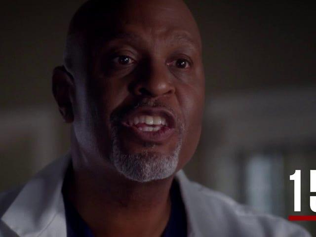 Una guida importante per 14 stagioni e 300 episodi di <i>Grey's Anatomy</i>