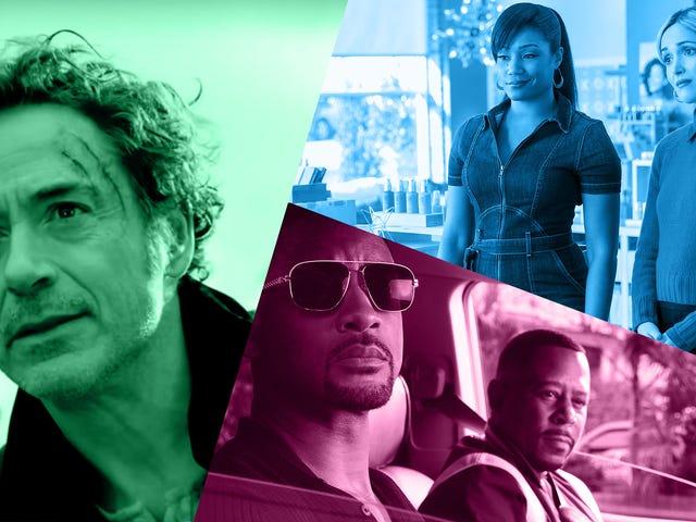 Robert Downey Jr., Tiffany Haddish og Bad Boys overskriften en usædvanligt stjernespækket januar