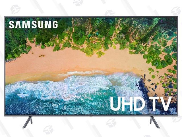 Este televisor de Samsung rebajado viene con $20 de crédito en VUDU