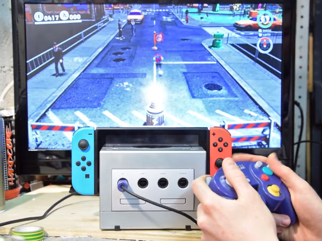 This GameCube Is Now A Switch Dock—With Working Controller Ports