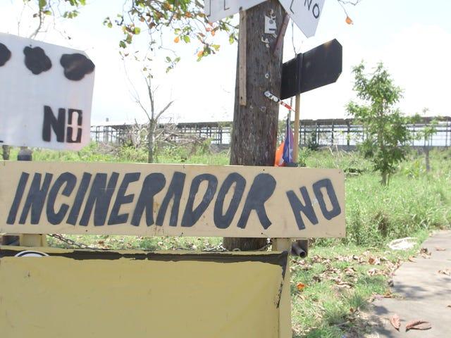 La ville portoricaine annonce l'abandon de la centrale à ordures