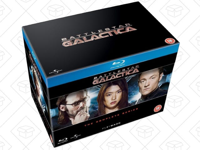 Own the Entirety of Battlestar Galactica for Just $37