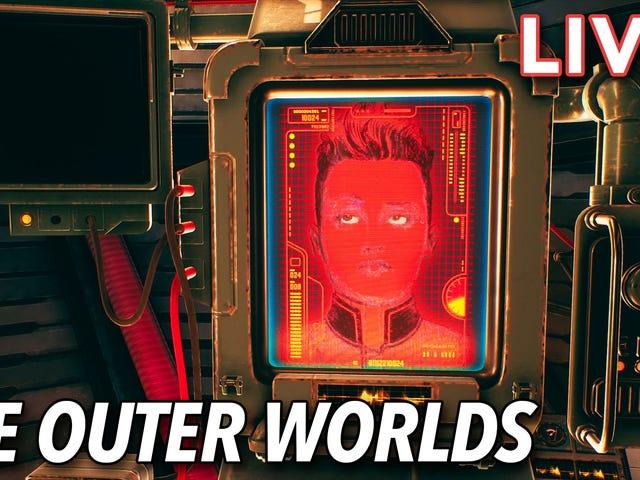 保罗和吉塔在Twitch上播出《外面的世界》