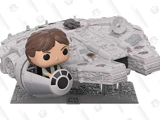 Only Amazon Prime Members Can Preorder This Giant Millenium Falcon Funko Pop!