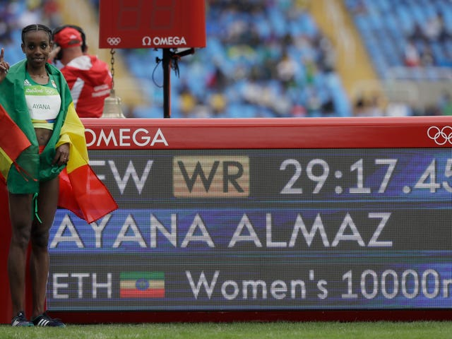 The Calculus Of Enjoying Almaz Ayana's World Record