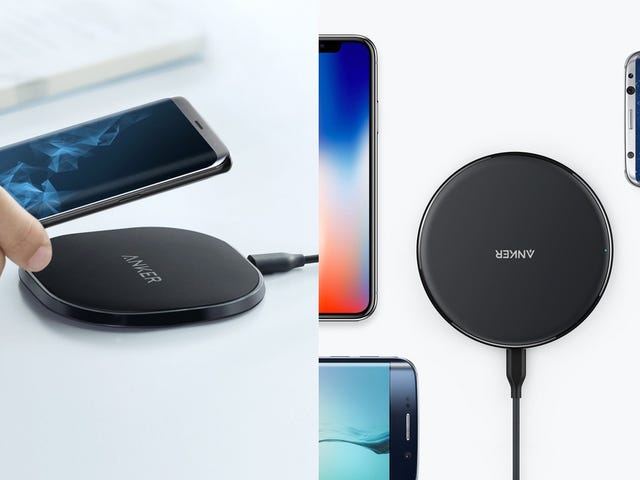 Take Your Pick of Two Anker Qi Chargers, Starting at $13