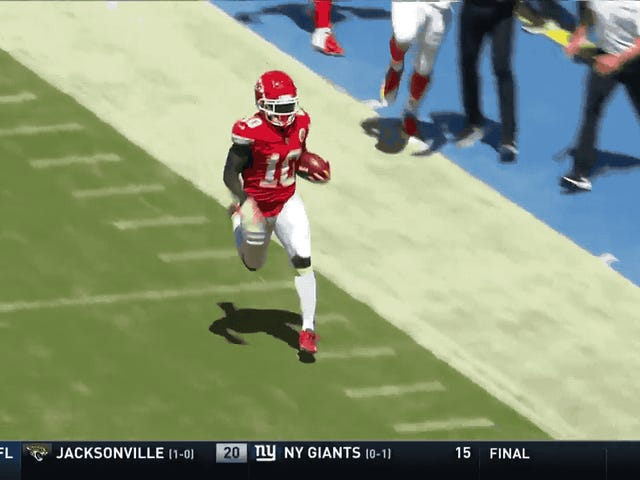 Tyreek Hill Is Already Making Everybody Look Silly