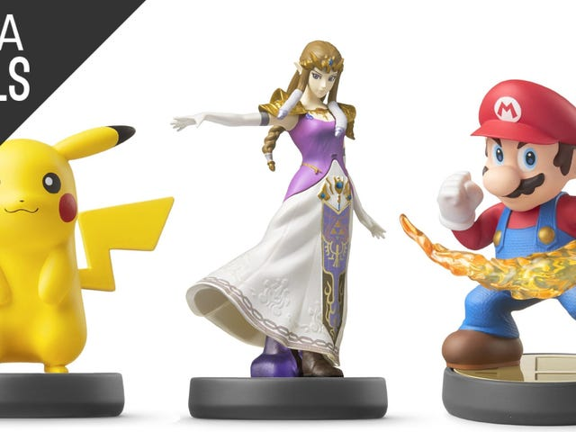 Start Your Amiibo Collection With a $25 Gift Card