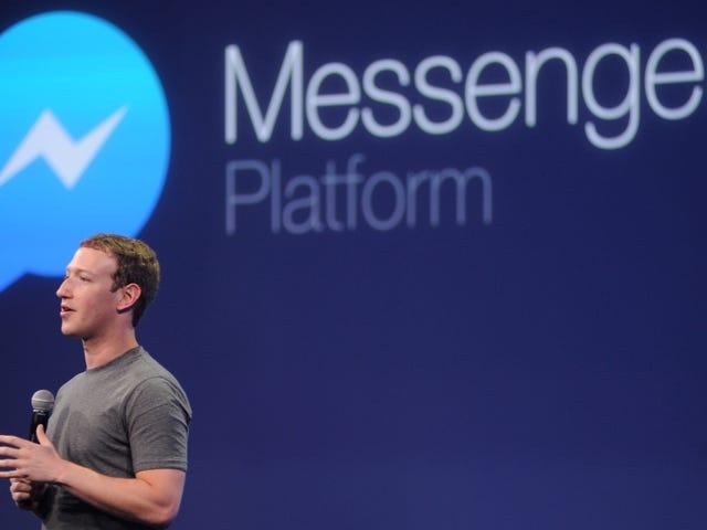 Det här är den senaste versionen av Facebook Messenger