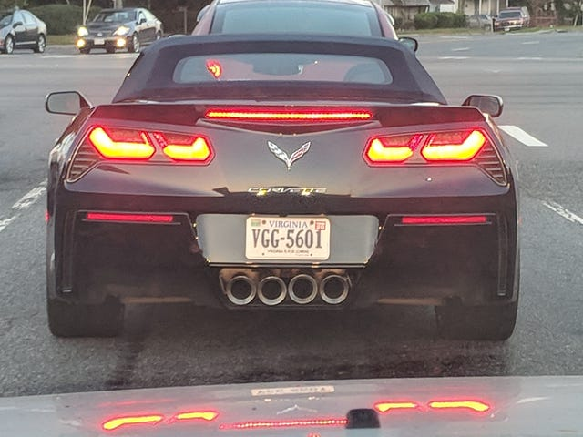 Those ever so slightly wonky tail pipes are bugging me.