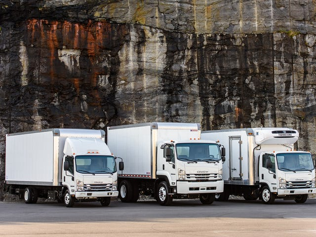 Isuzu Is Teaming Up With Honda To Develop Hydrogen-Powered Trucks