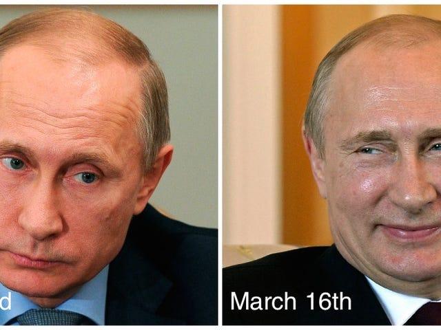 """Vladimir Putin ha """"perso"""" così potrebbe avere la chirurgia plastica?"""