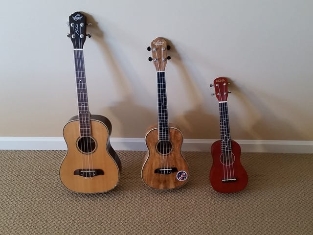 Added another uke to the collection
