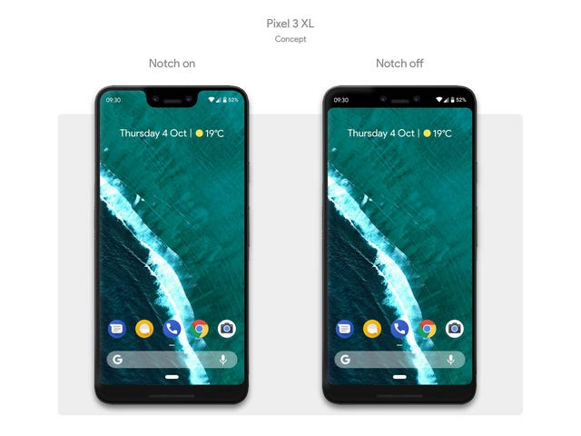 Is This Really What the Google Pixel 3 Will Look Like?