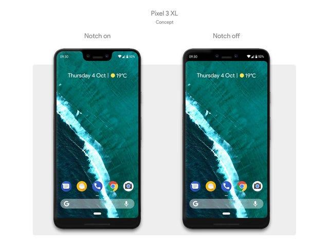 Est-ce vraiment ce que le Google Pixel 3 ressemblera?