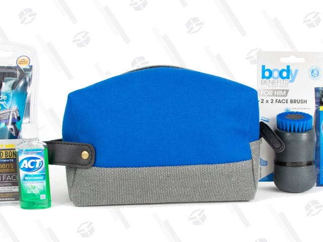 Walmart Is Selling a Nice-Looking Bag Full of Men's Grooming Products for $7