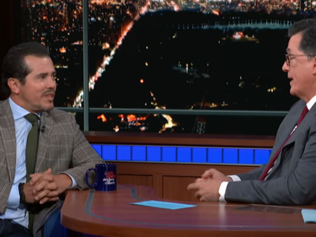 John Leguizamo tells Stephen Colbert that Trump could use his Latin History For Morons