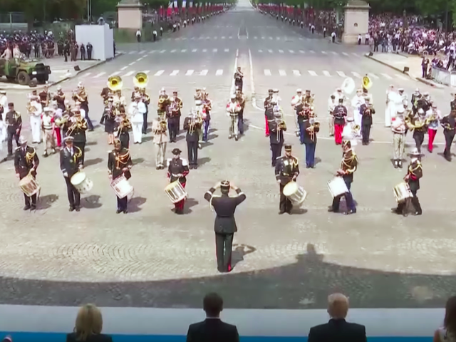 French Army Performs Daft Punk Medley, Donald Trump Does Not Look Pleased
