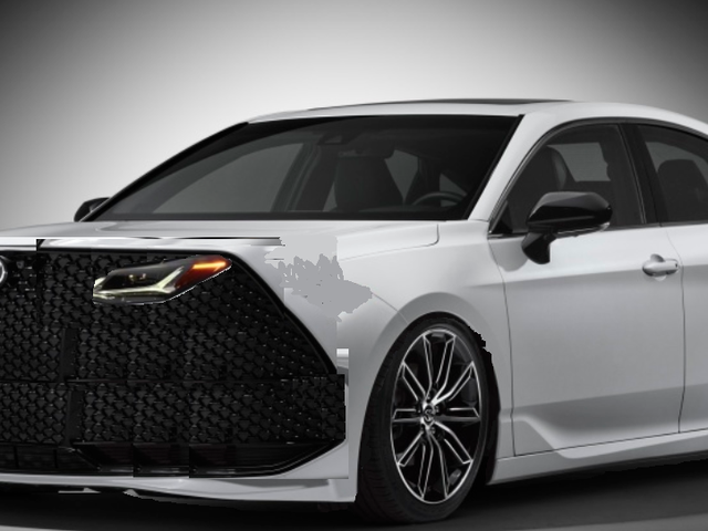 2020 typical Toyota sedan: