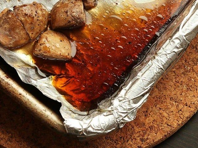 Säilytä neste paahtamista sienistä maustetulle, Umami-pakkauksille