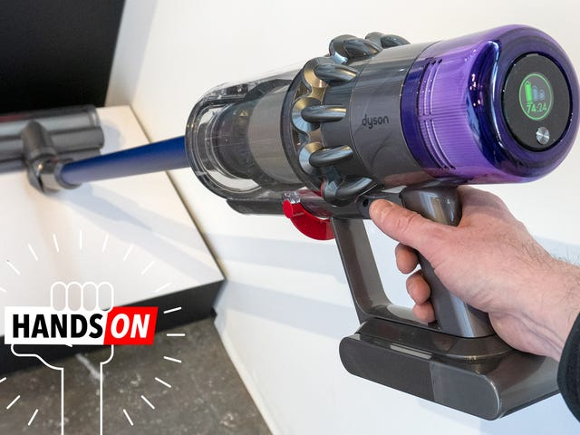 The Most Exciting Update to Dyson's New Cordless Vac Is...  a Battery Meter?